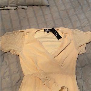 Flair beige summer  dress